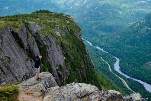 Deux incontournables au Québec: l'Acropole des Draveurs et le Mont du Lac des Cygnes