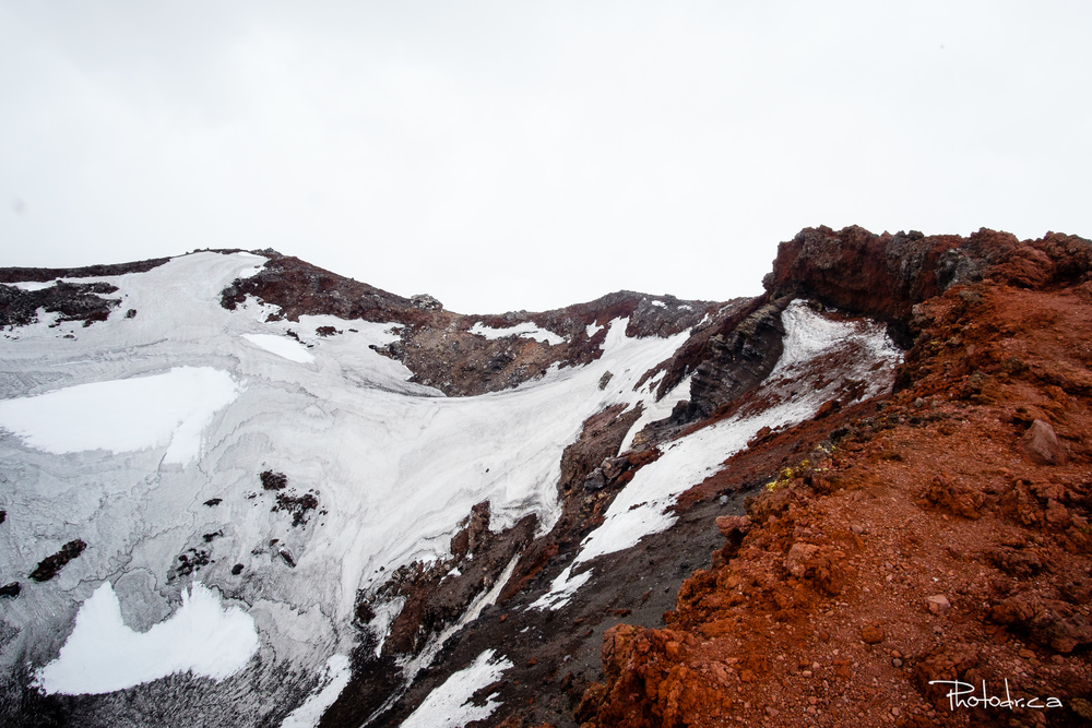 Ma (difficile) ascension du volcan actif Tongariro