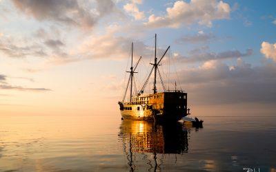 Une luxueuse escapade en voilier de Bali à l'ile de Komodo