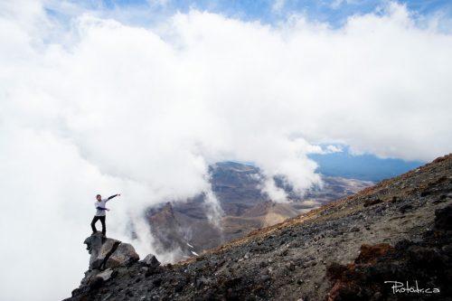 Ma (difficile) ascension du volcan actif Tongariro