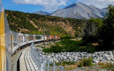 Une sublime balade de train en Nouvelle-Zélande