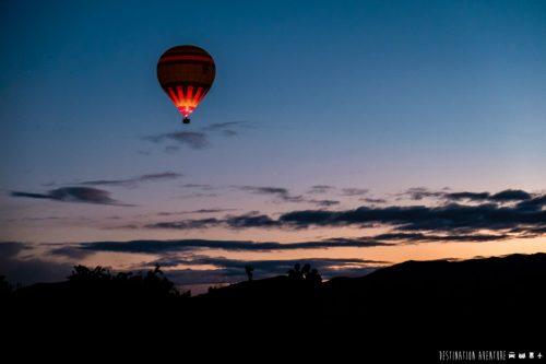Un admirable vol en montgolfière au lever du soleil à Marrakech