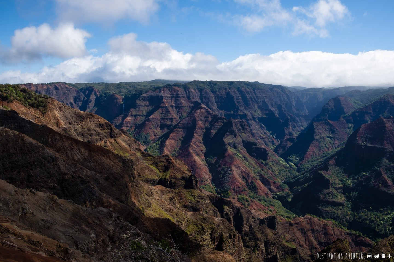 Une mémorable randonnée dans le Grand Canyon du Pacifique à Hawaii