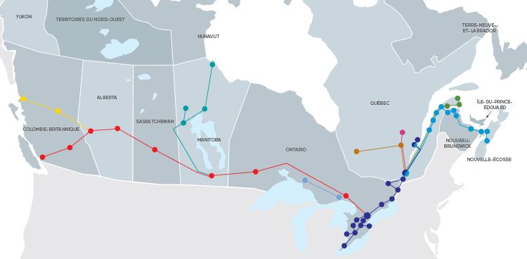 Via Rail t'offre des voyages illimités partout au Canada pour 150$!