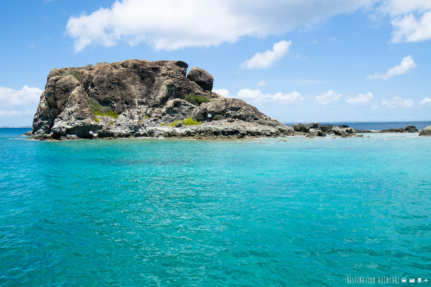 Boat trip around St. Maarten to discover beaches and paradisiacal islands