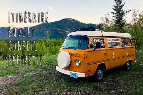 Journal de bord d'Octave: 1er mois, l'Alberta!