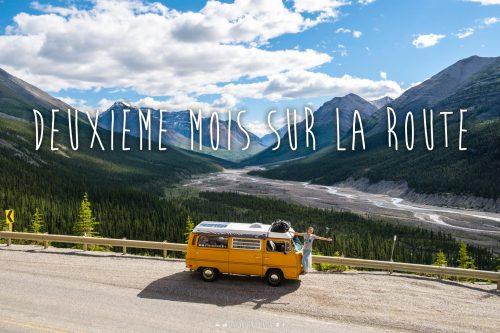 Journal de bord d'Octave: 2e mois, la Colombie-Britannique et nos débuts au Yukon!