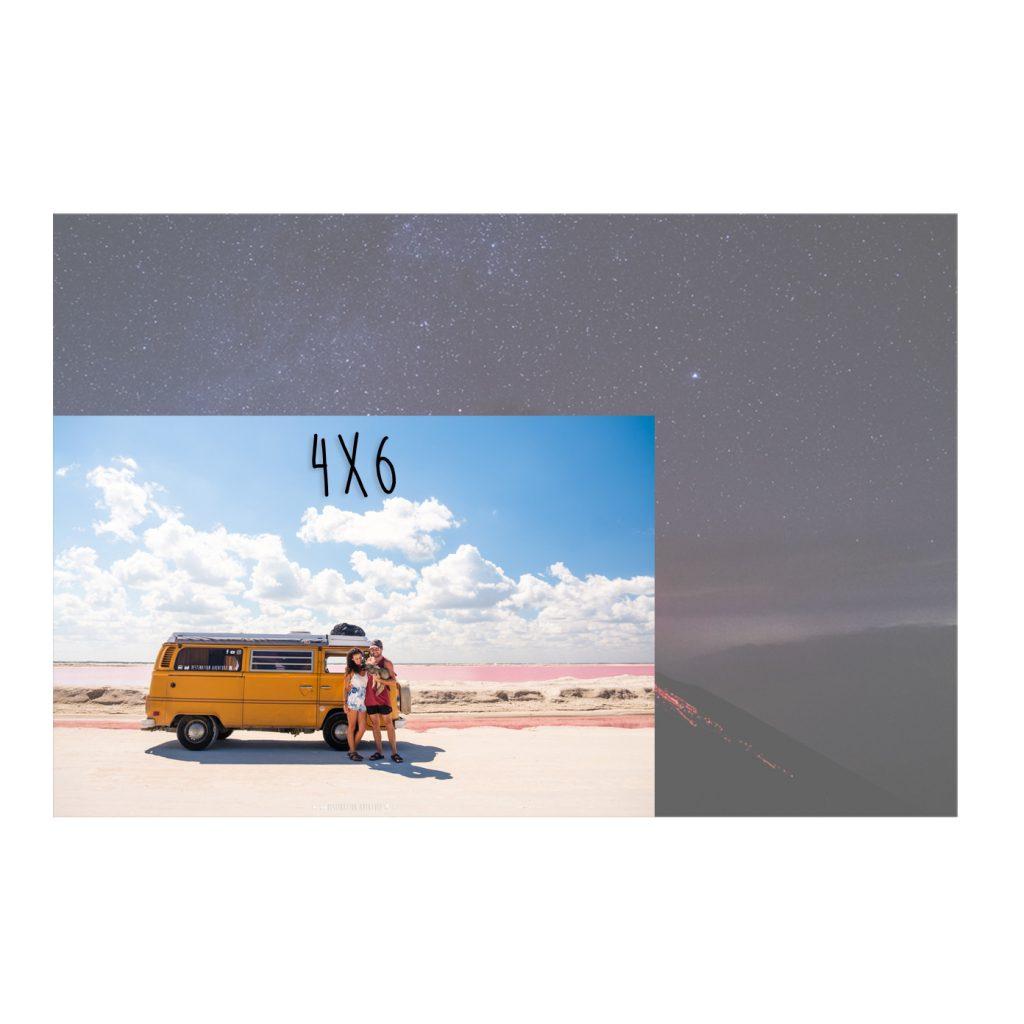 Carte postale personnalisée - Standard 4x6